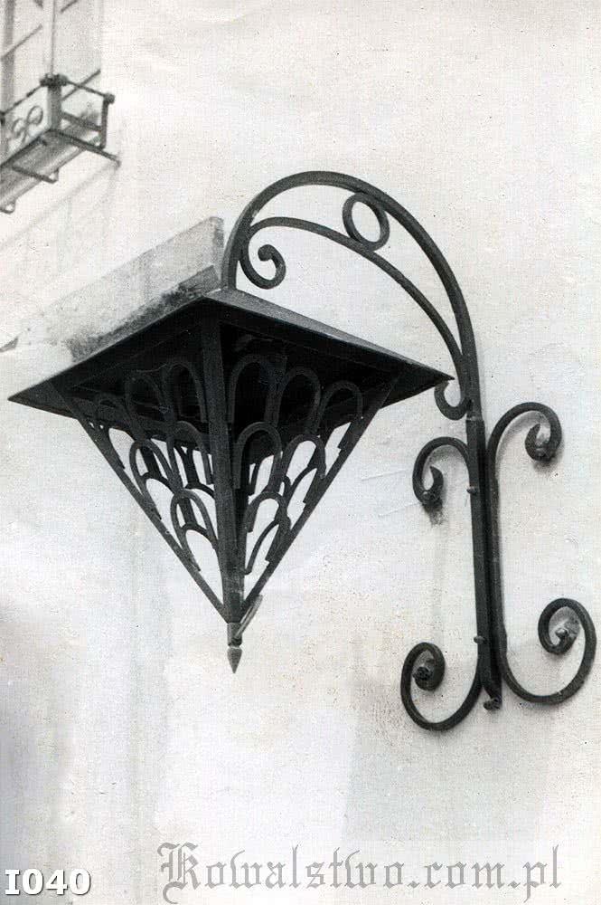 Kowalstwo Szczecin Lampa ozdobna I040